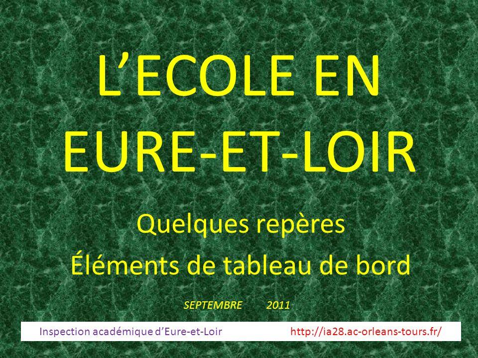 L'ECOLE EN EURE-ET-LOIR