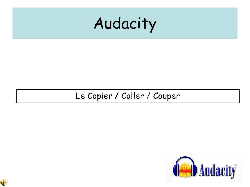 Le Copier / Coller / Couper