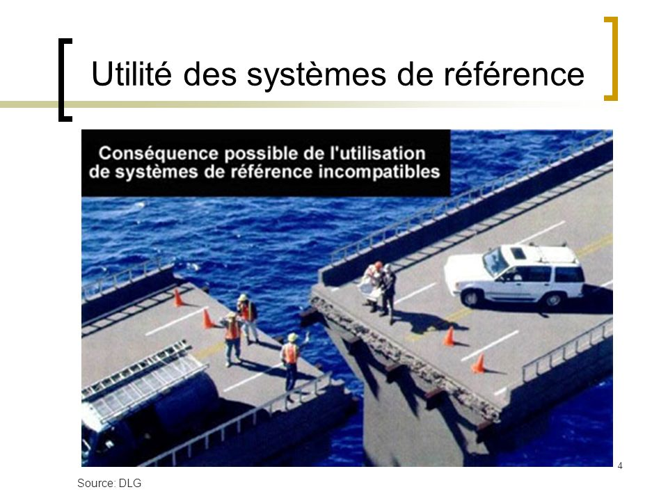 Utilité des systèmes de référence