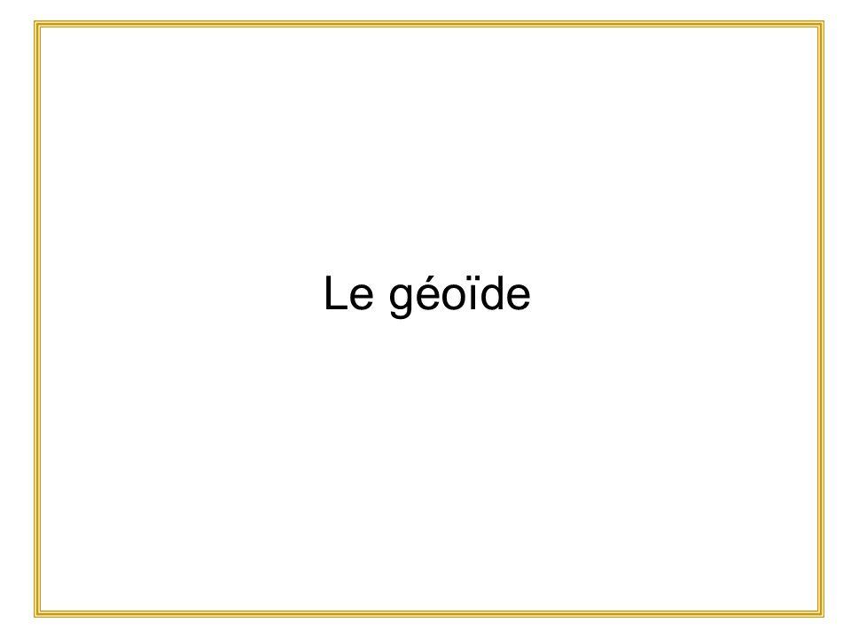 Le géoïde