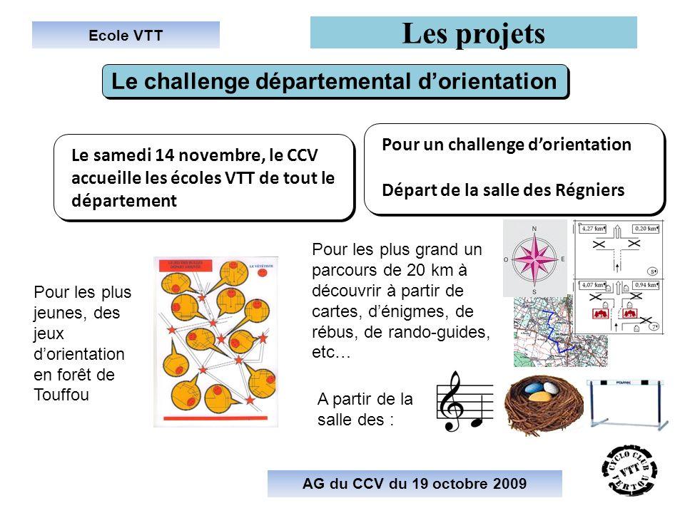 Le challenge départemental d'orientation