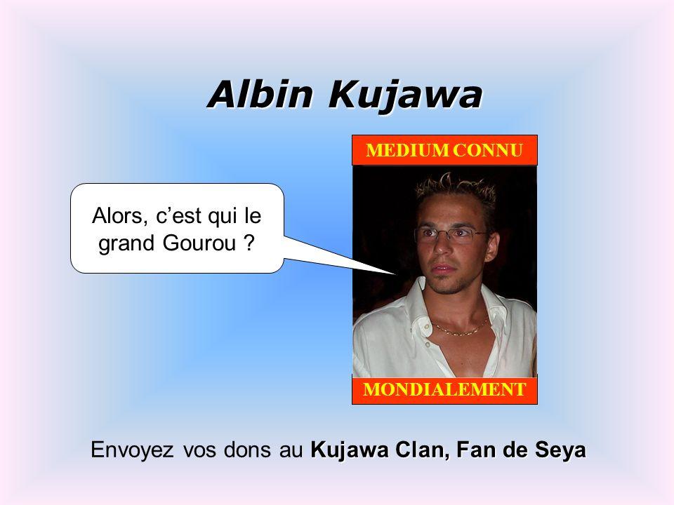 Albin Kujawa Alors, c'est qui le grand Gourou