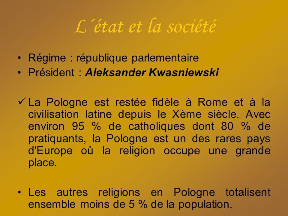 L´état et la société Régime : république parlementaire