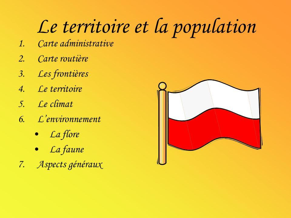 Le territoire et la population