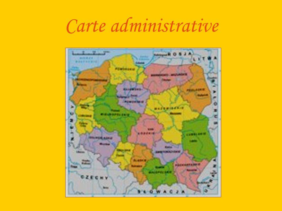 Carte administrative