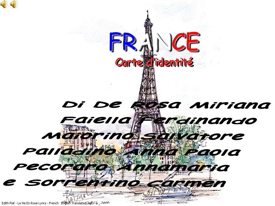 FRANCE Carte d'identité