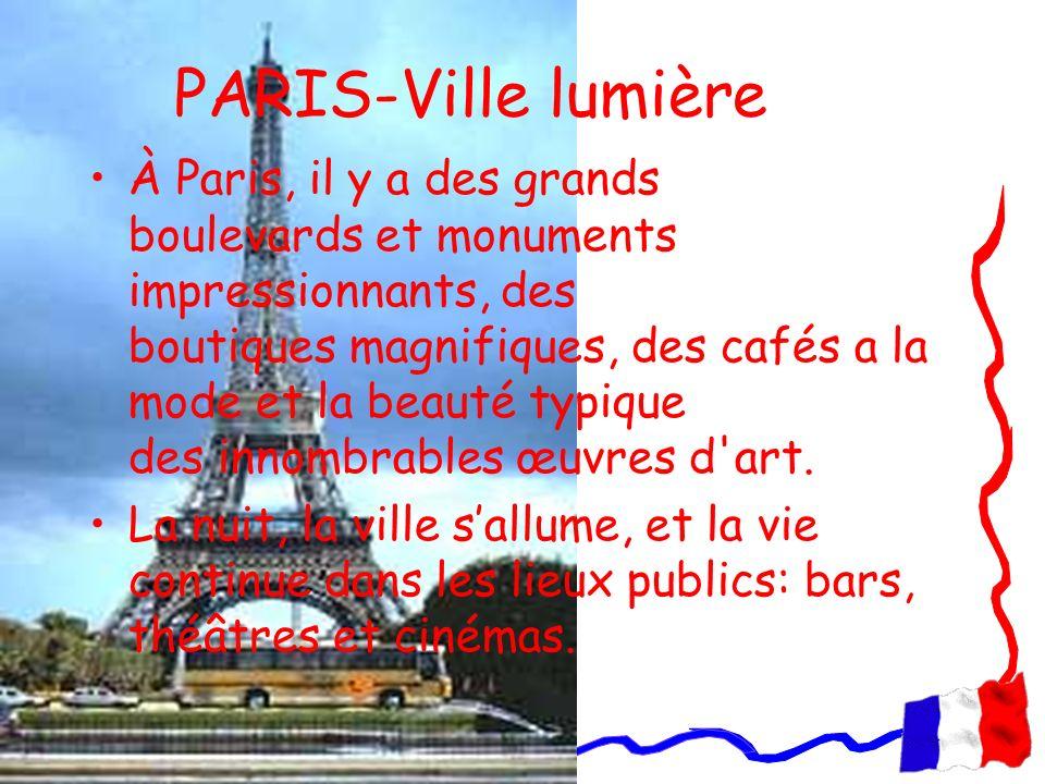PARIS-Ville lumière