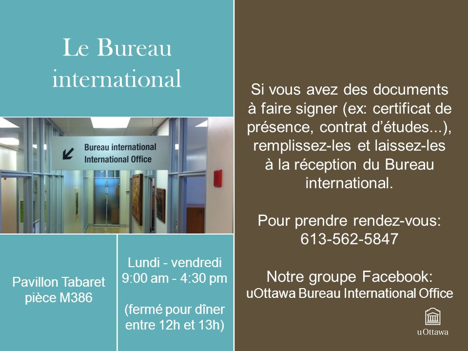 Le Bureau international