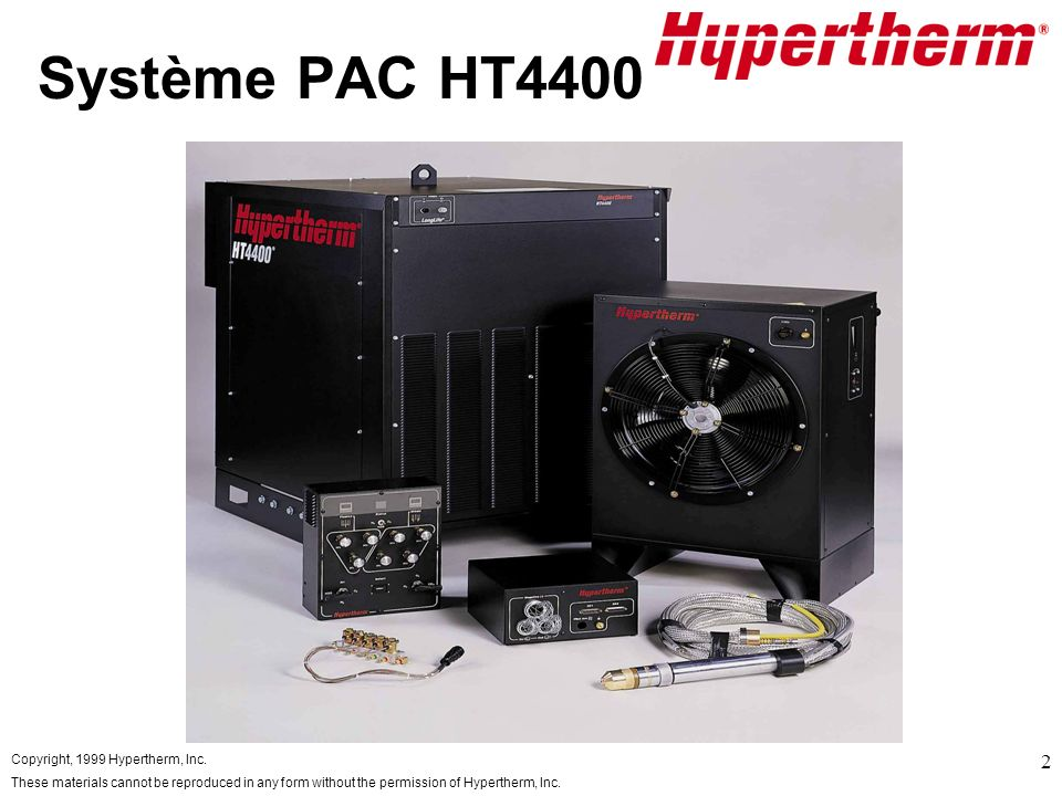 Système PAC HT4400