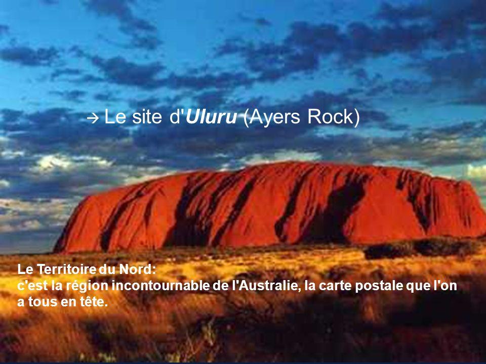 Le site d Uluru (Ayers Rock)
