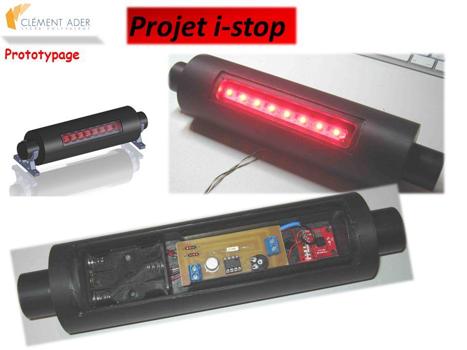 Projet i-stop Prototypage