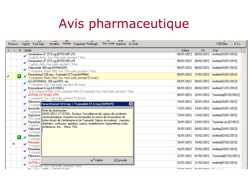 Avis pharmaceutique