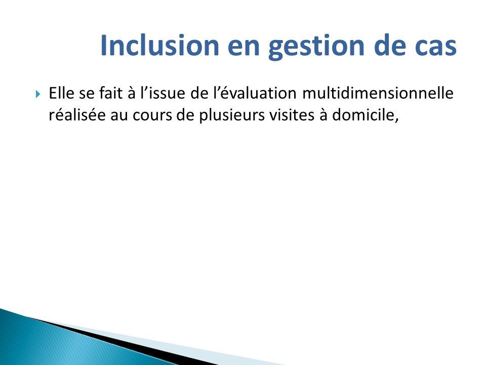 Inclusion en gestion de cas