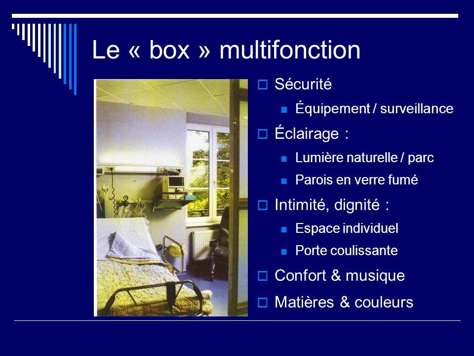 Le « box » multifonction