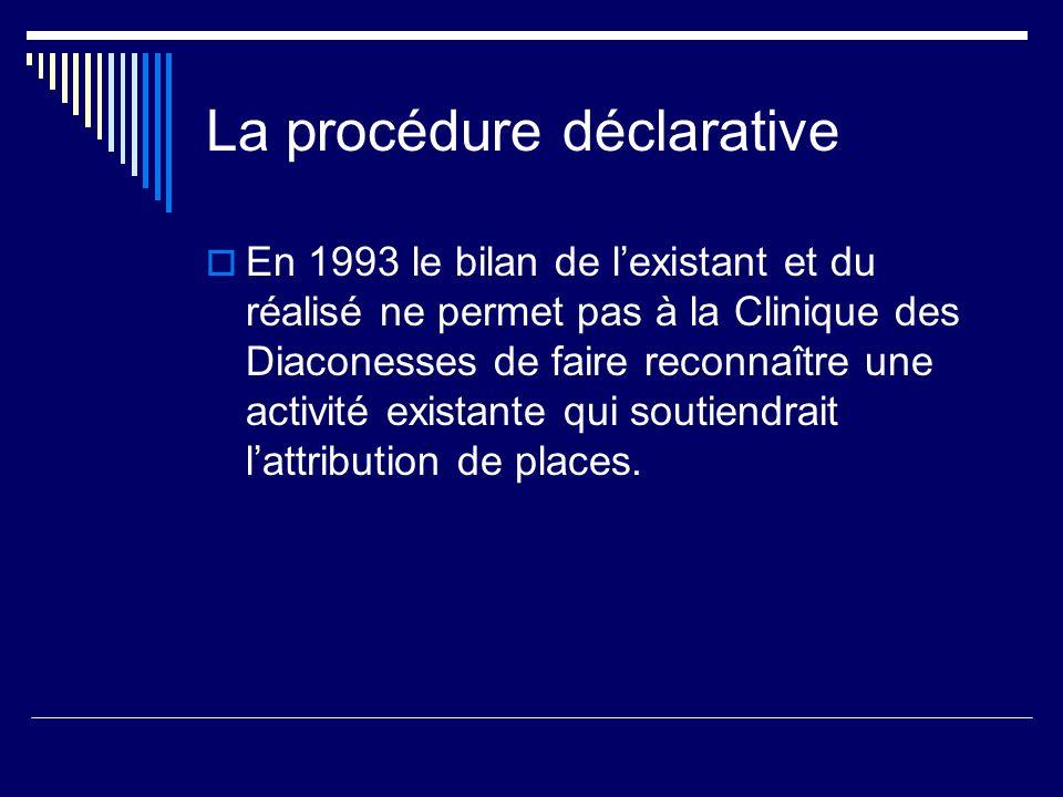 La procédure déclarative