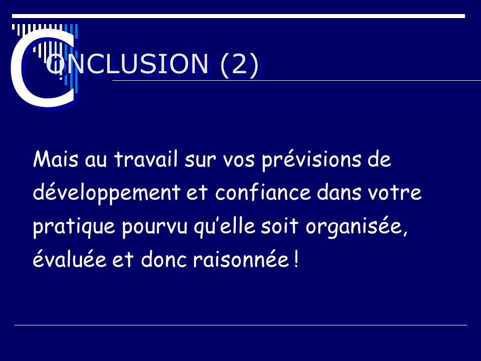C ONCLUSION (2)