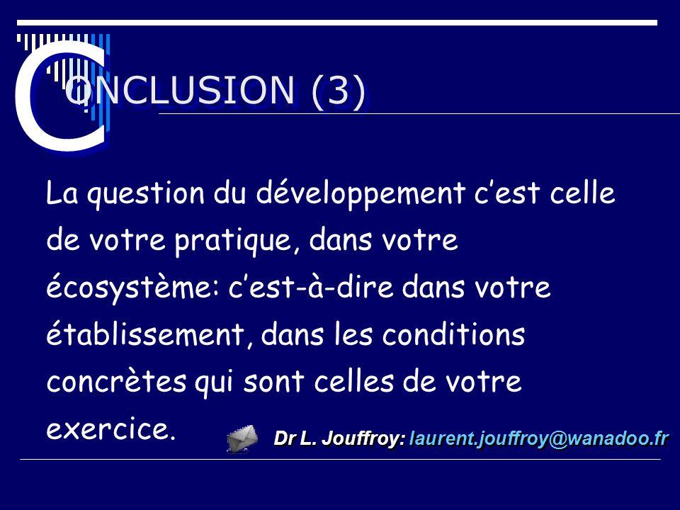 C ONCLUSION (3)