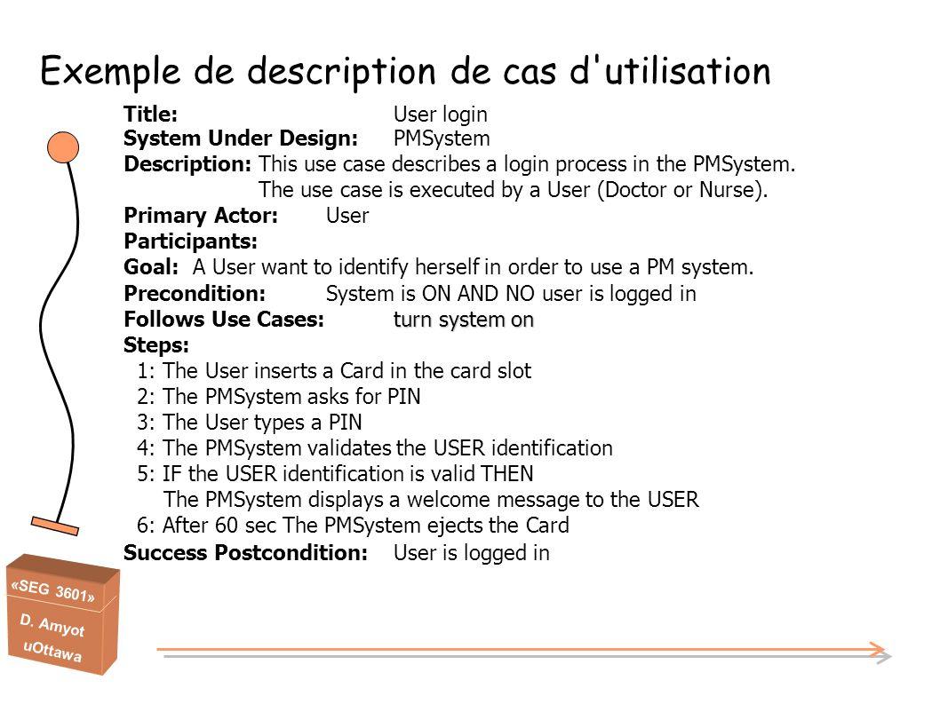 Exemple de description de cas d utilisation