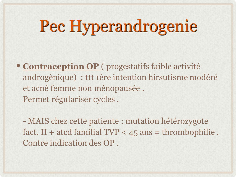 Pec Hyperandrogenie