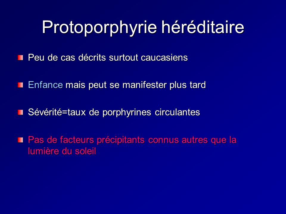 Protoporphyrie héréditaire