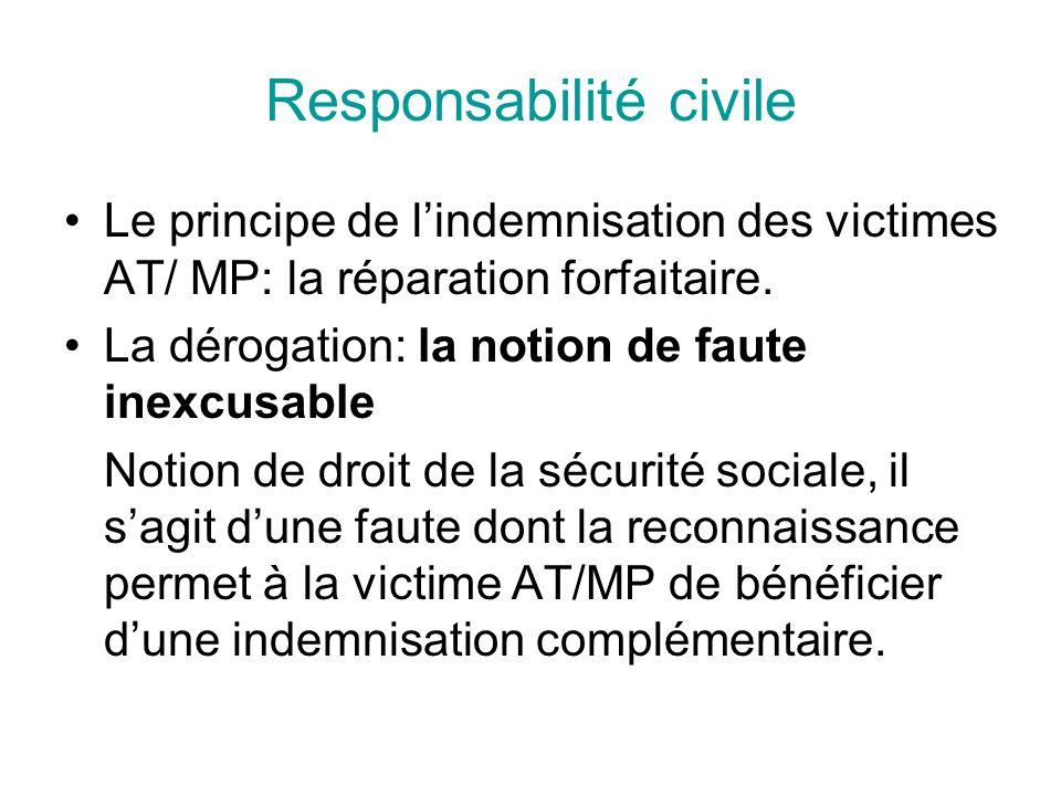 Responsabilité civile