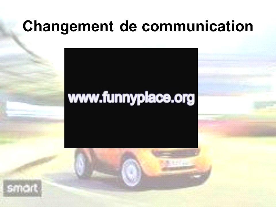 Changement de communication