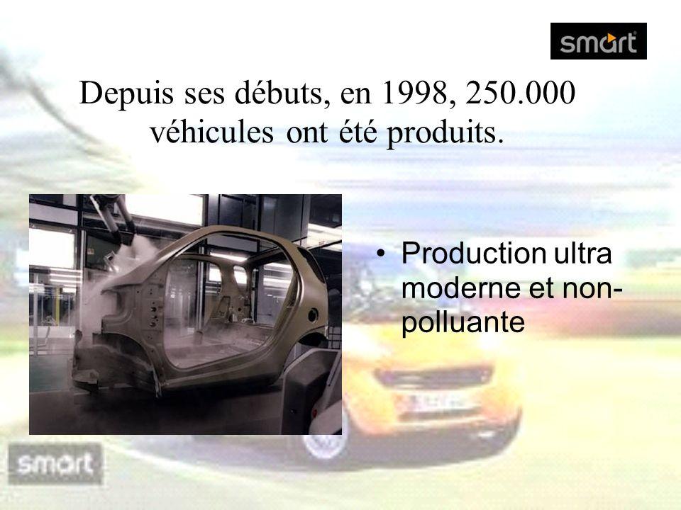Depuis ses débuts, en 1998, 250.000 véhicules ont été produits.