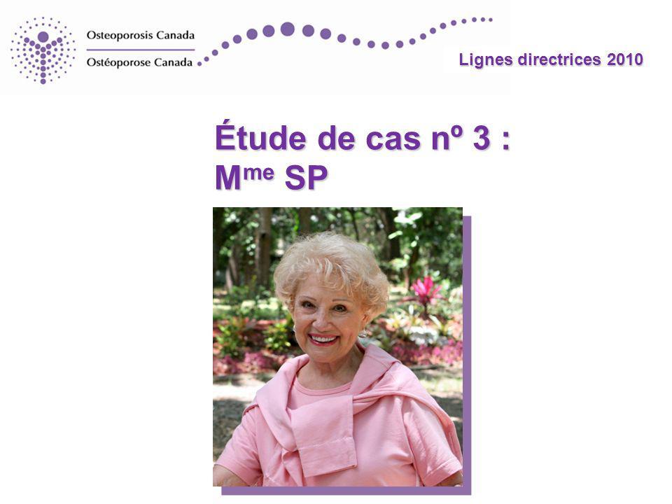 Étude de cas nº 3 : Mme SP