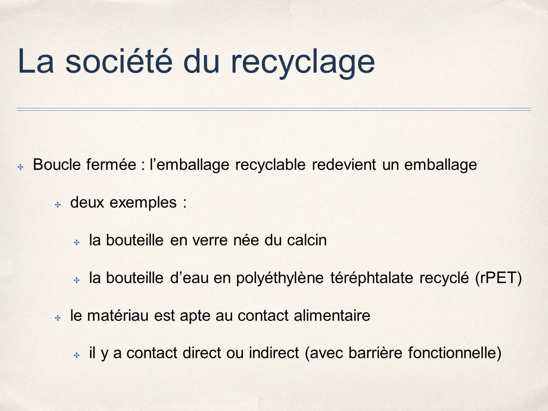 La société du recyclage