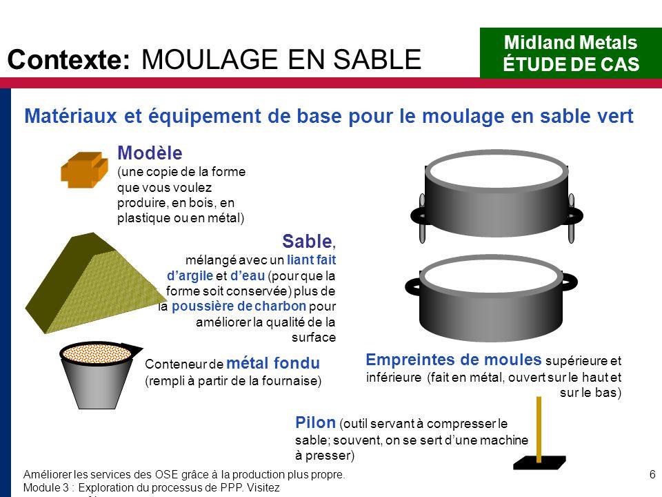 Contexte: MOULAGE EN SABLE