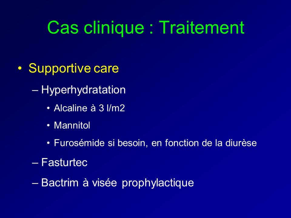 Cas clinique : Traitement