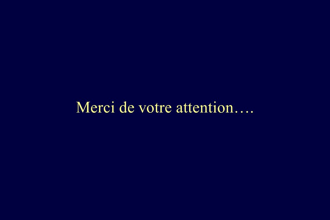 Merci de votre attention….