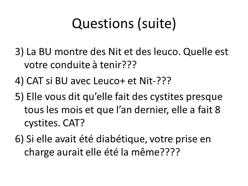 Questions (suite)