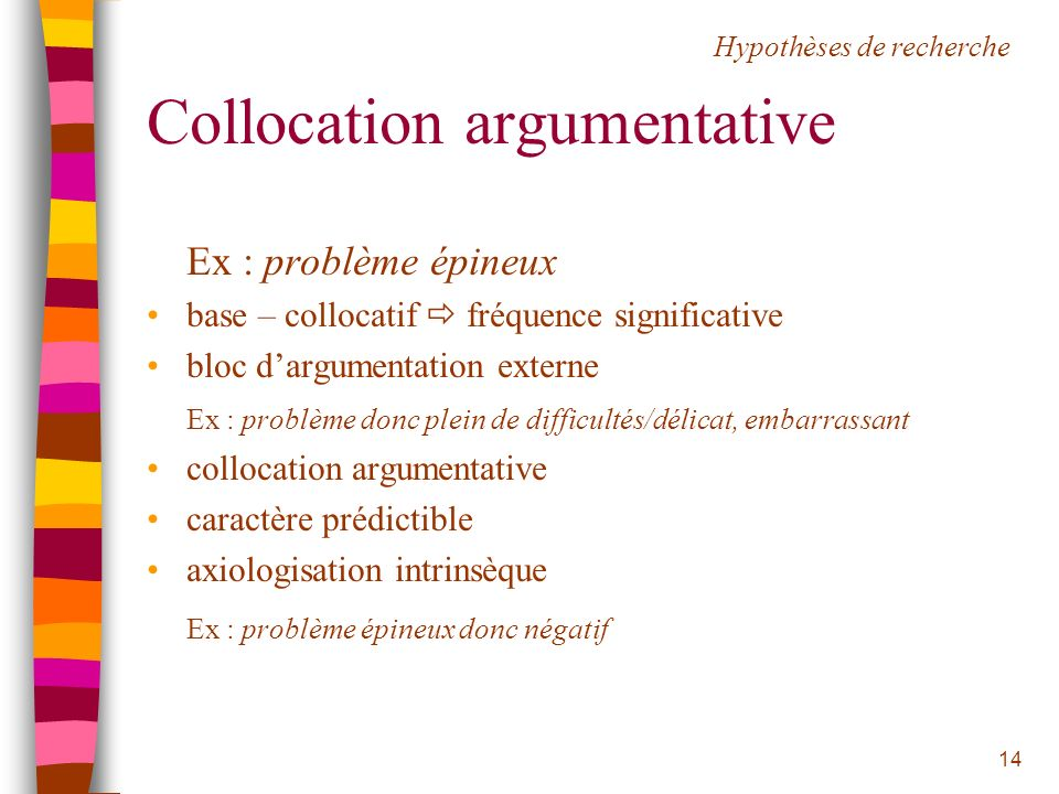 Collocation argumentative