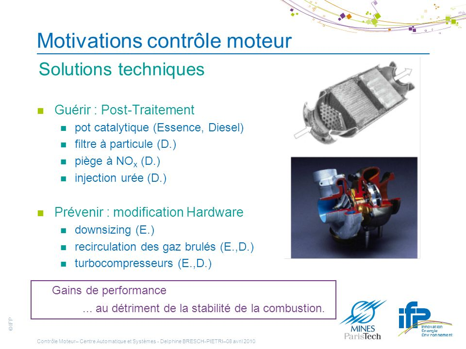 Motivations contrôle moteur