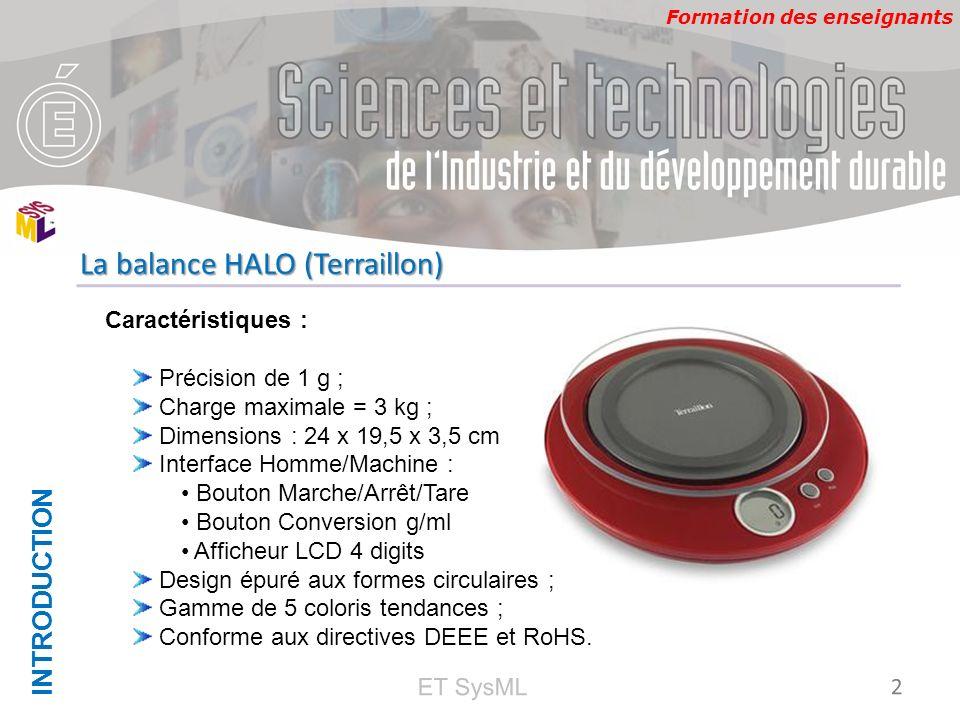 La balance HALO (Terraillon)
