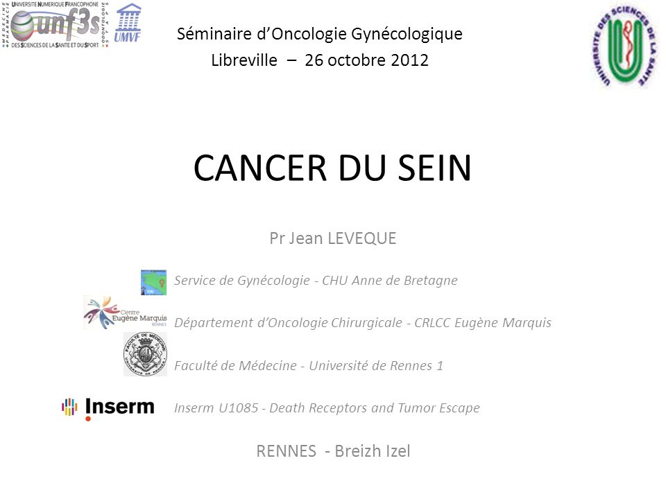 Séminaire d'Oncologie Gynécologique