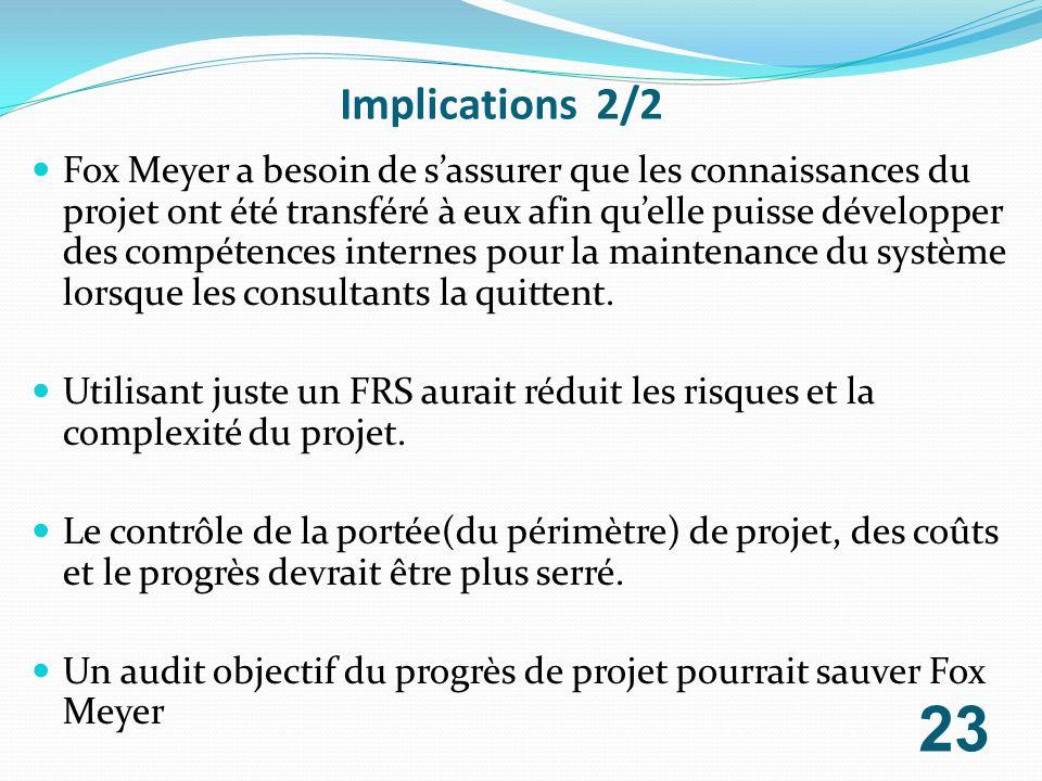Implications 2/2