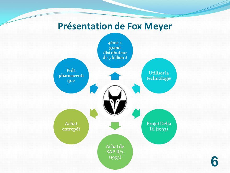 Présentation de Fox Meyer