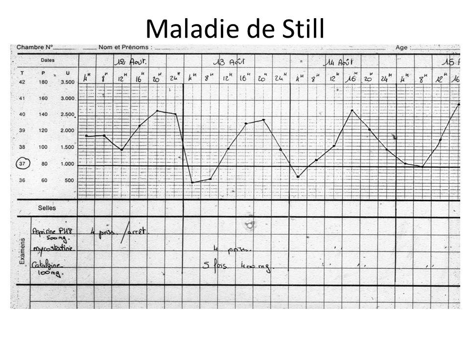 Maladie de Still