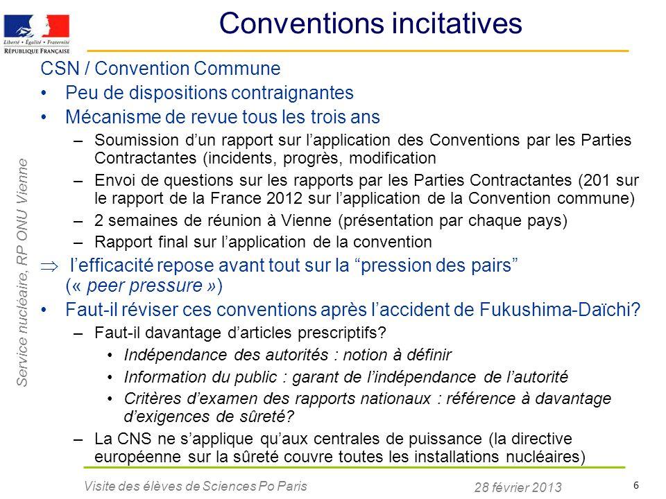 Conventions incitatives