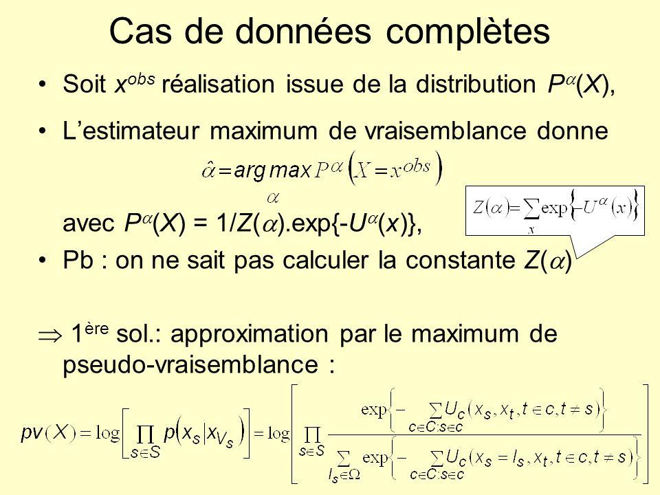 Cas de données complètes