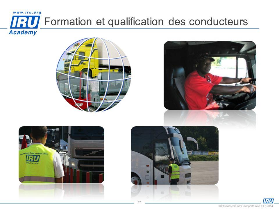 Formation et qualification des conducteurs