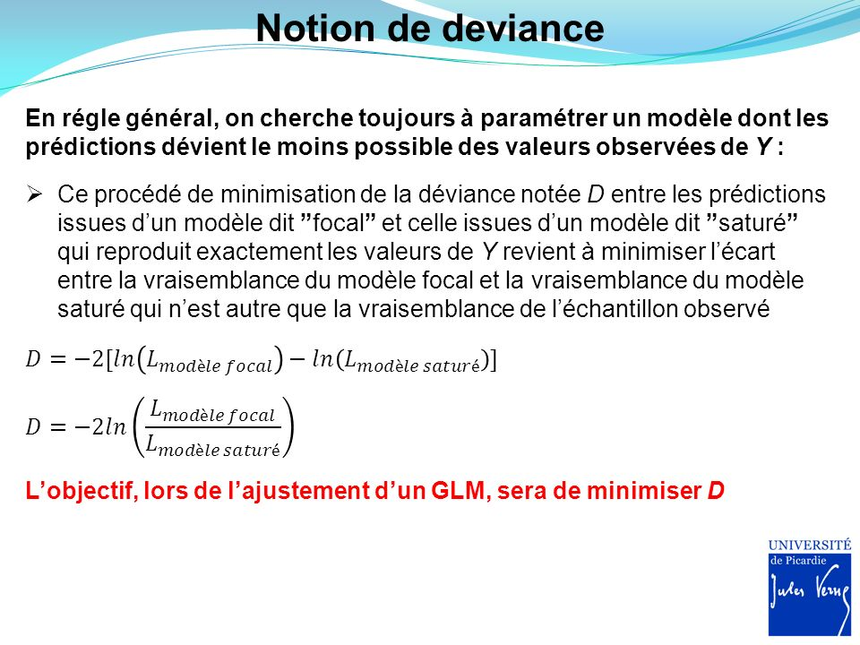 Notion de deviance