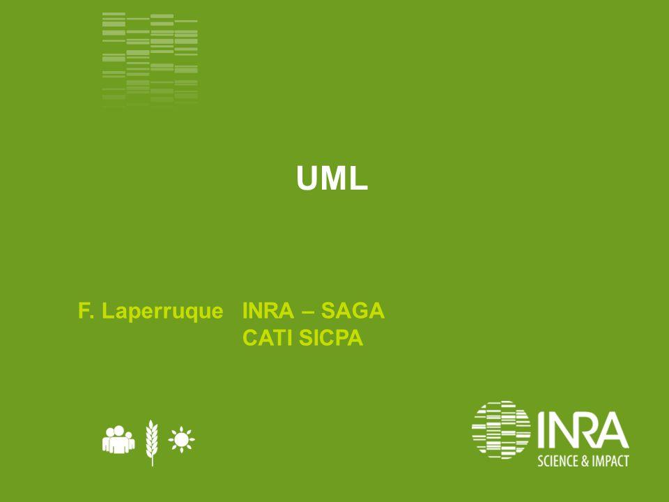 UML F. Laperruque INRA – SAGA CATI SICPA