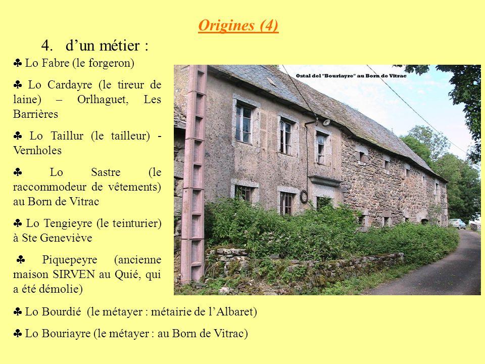 Origines (4) d'un métier :  Lo Fabre (le forgeron)