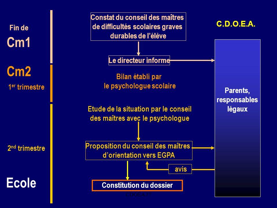 Cm1 Cm2 Ecole Constat du conseil des maîtres