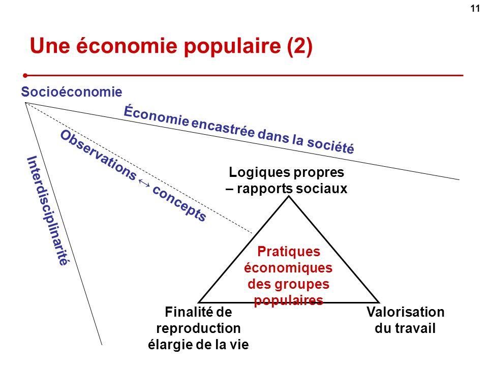 Une économie populaire (2)