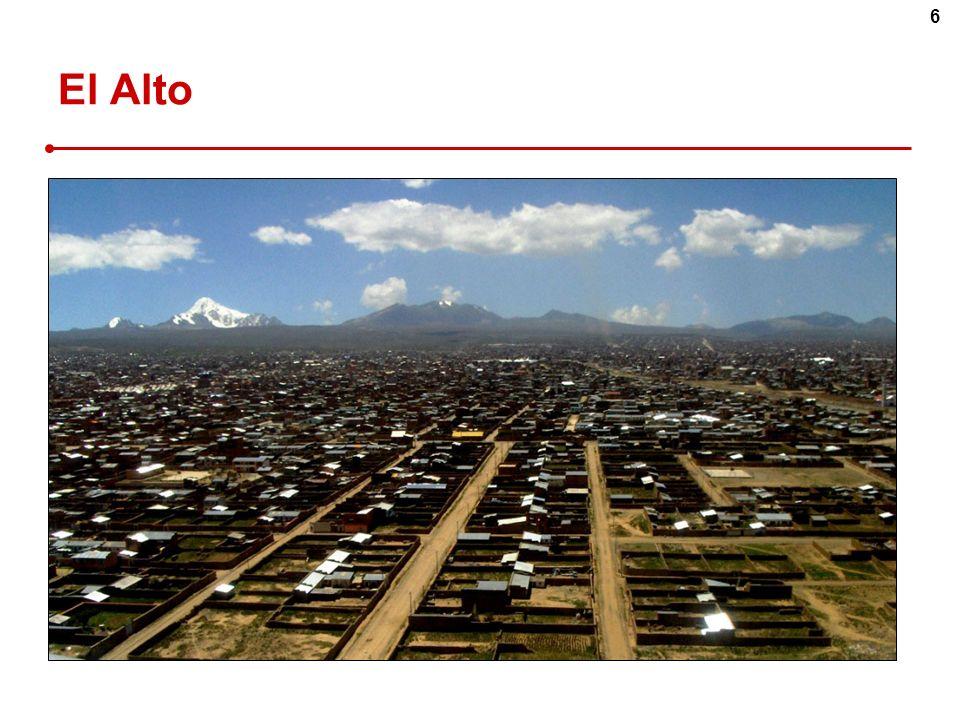 El Alto El Alto – déversoir