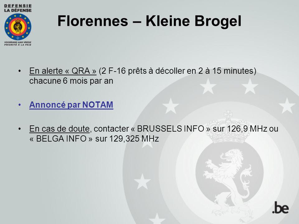 Florennes – Kleine Brogel